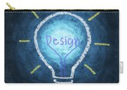 Light Bulb Design Carry-all Pouch