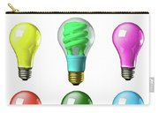 Light Bulbs Of A Different Color Carry-all Pouch