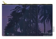 Light Decorated Palm Trees On Paseo Maritimo Carry-all Pouch