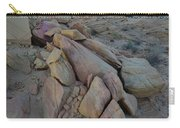 Light Fading On Valley Of Fire Carry-all Pouch