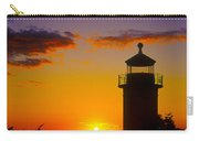 Light House At Fort Casey Washington Carry-all Pouch