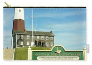 Light House At Montauk Point Carry-all Pouch