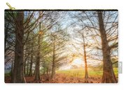 Light In The Cypress Trees II Carry-all Pouch