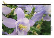 Light Lavender Flowers Carry-all Pouch