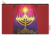 Light Of Life Carry-all Pouch by Nancy Cupp