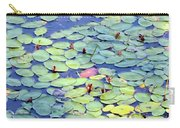 Light On Lily Pads Carry-all Pouch