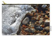 Light On Rocks And Ice  Carry-all Pouch