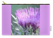 Light On Thistle Carry-all Pouch