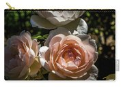 Light Pink Roses Carry-all Pouch