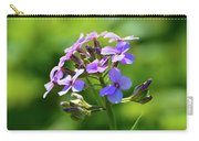 Light Purple Flowers  Carry-all Pouch