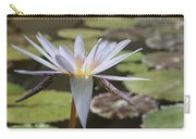 Light Purple Lily Carry-all Pouch