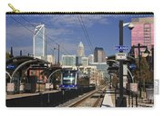Light Rail In Charlotte Carry-all Pouch