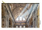 Light Rays In St Peter's, Rome Carry-all Pouch