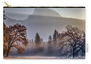 Light Rays In Yosemite Ground Fog Carry-all Pouch