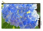 Light Through Blue Hydrangeas Carry-all Pouch