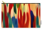 Light Through Flowers Carry-all Pouch by Amy Vangsgard