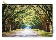 Light Through Live Oak Lane Carry-all Pouch