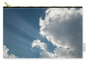 Light Through The Clouds Carry-all Pouch
