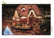 Lighted Christmas House  Carry-all Pouch
