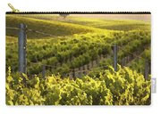 Lighted Vineyard Carry-all Pouch by Sharon Foster