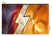 Lightening Bolt Abstract Posterized Carry-all Pouch
