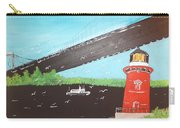 Lighthouse And Bridge Carry-all Pouch