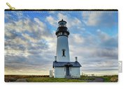 Lighthouse And Clouds Carry-all Pouch