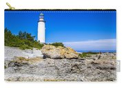 Lighthouse And Rocks Carry-all Pouch