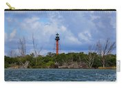 Lighthouse At Anclote Key Carry-all Pouch