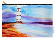 Lighthouse By The Sea Carry-all Pouch