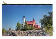 Lighthouse Eagle Harbor Lake Superior -6533 Carry-all Pouch