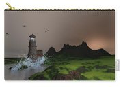 Lighthouse Landscape By John Junek Fine Art Prints And Posters Carry-all Pouch