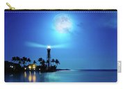 Lighthouse Moon Carry-all Pouch by Mark Andrew Thomas