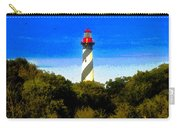 Lighthouse Of Saint Augustine Carry-all Pouch