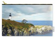 Lighthouse On A Jetty. Carry-all Pouch
