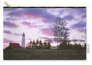 Lighthouse On A Landscape, Tawas Point Carry-all Pouch