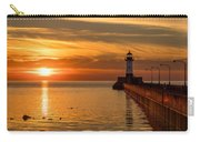Lighthouse On Glass Carry-all Pouch