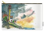 Lighthouse On The Hill Carry-all Pouch