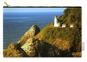 Lighthouse On The Oregon Coast Carry-all Pouch