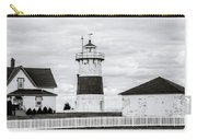 Lighthouse Point In Black And White #5 Carry-all Pouch