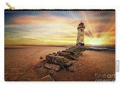 Lighthouse Sunset Wales Carry-all Pouch