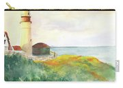 Lighthouse-watercolor Carry-all Pouch