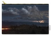Lightning And Light Trails Carry-all Pouch