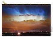Lightning Cloud Burst Boulder County Colorado Im34 Carry-all Pouch