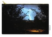 Lightning On The Distant Mountains Carry-all Pouch