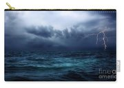 Lightning Over Water Carry-all Pouch