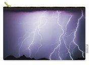 Lightning Storm North Scottsdale Az 85255 Carry-all Pouch