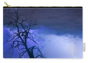 Lightning Tree Silhouette 38 Carry-all Pouch