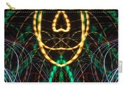 Lightpainting Panorama Print Photograph 2 Carry-all Pouch