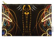 Lightpainting Panorama Print Photograph 4 Carry-all Pouch